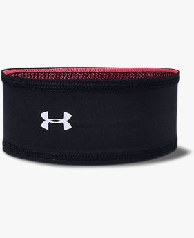Girls' UA Play Up Reversible Mesh Headband